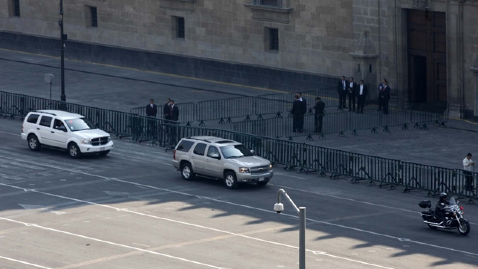 operativo seguridad, visita obama