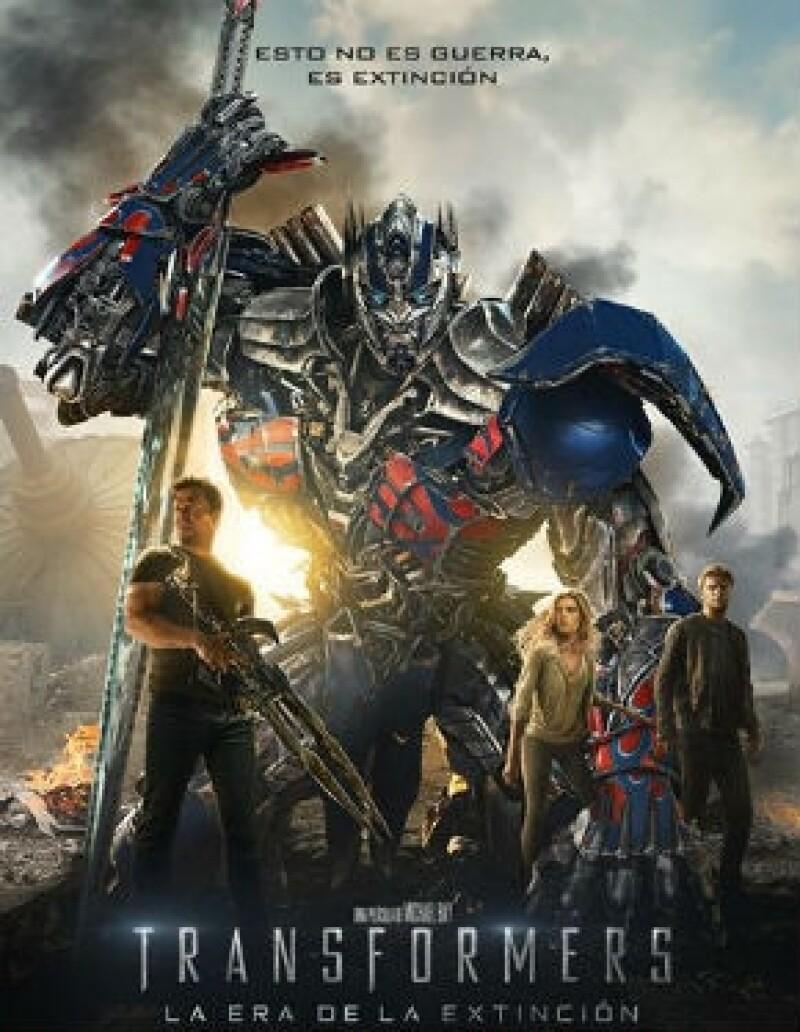 Acción al máximo es lo que promete la cuarta entrega de esta saga de acción, ahora con Mark Wahlberg y la bella Nicola Peltz como sus protagonistas.