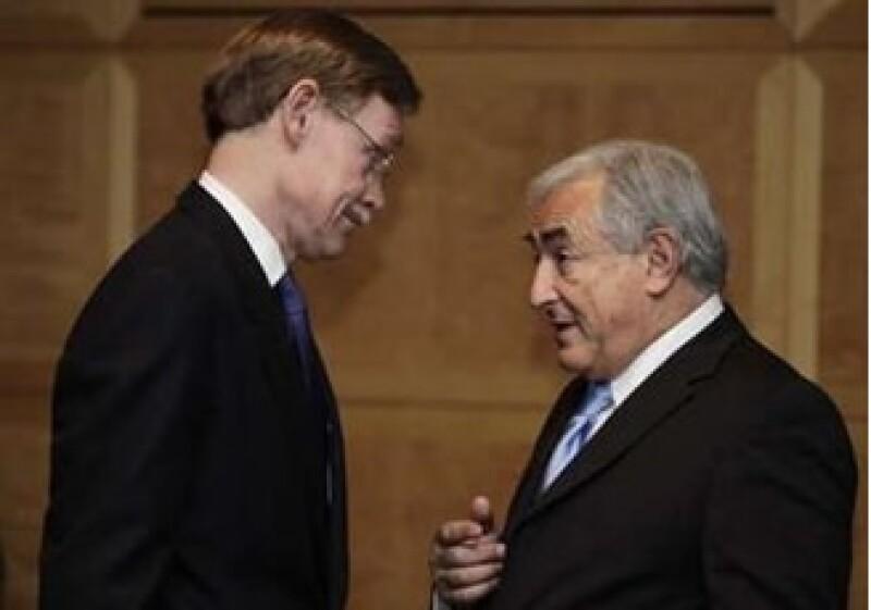 Robert Zoellick y Dominique Struss Kahn coincidieron en la necesidad de reformar al Banco Mundial y al FMI. (Foto: Reuters)