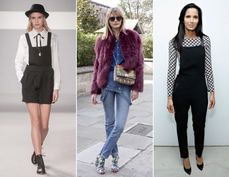 Los overalls son una perfecta opción para estar comfy y stylish.