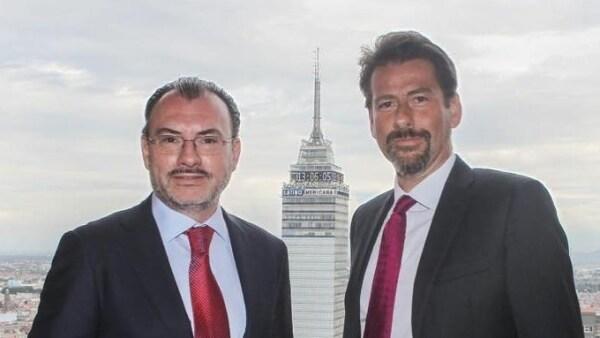 Luis y Eduardo Videgaray.