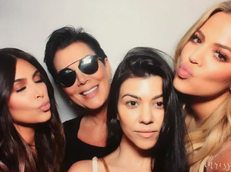 Las Kardashian no podían faltar al baby shower.