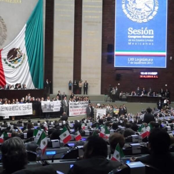 congreso sexto informe calderon