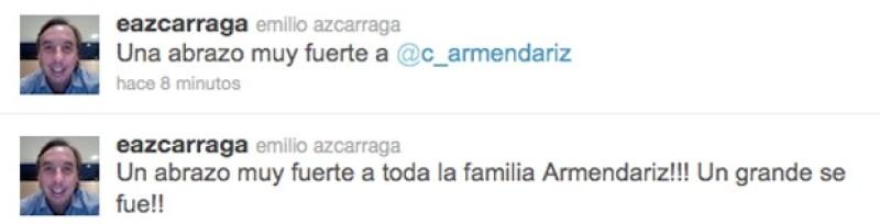 El comentario de Emilio Azcárraga Jean.
