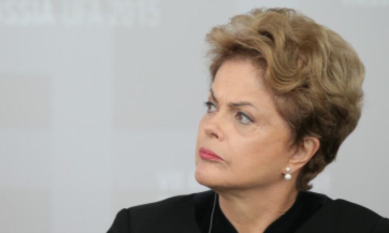 Dilma dice ser víctima de un golpe, a 11 meses de haber iniciado su segundo mandato. (Foto: Getty Images)