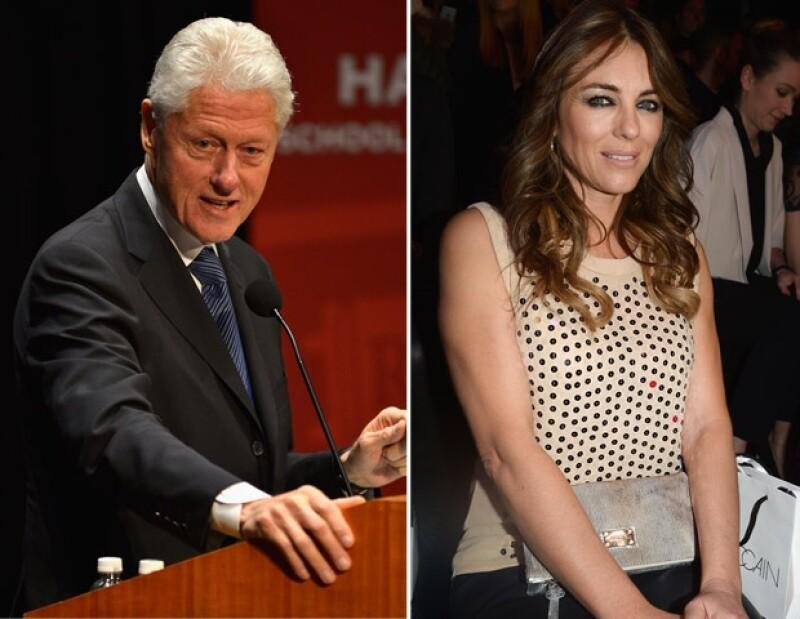 De acuerdo con el portal Radar Online, el ex mandatario y la modelo se conocieron gracias al actor Tom Sizemore. Según fuentes, el romance se dio en los dos últimos años de la presidencia de Clinton.