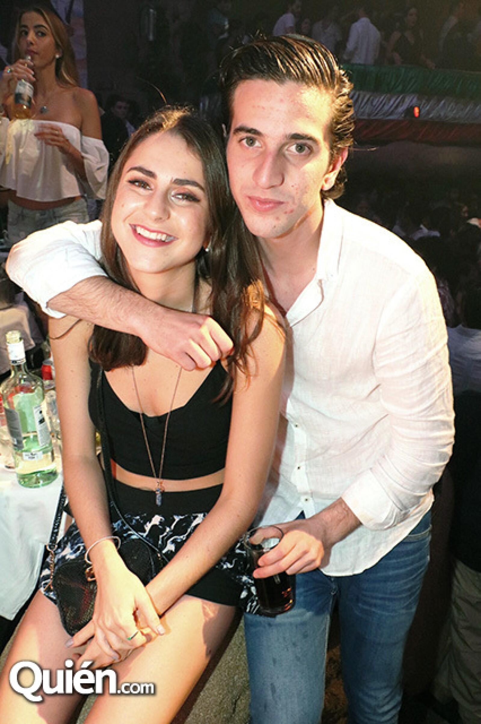 Josefa Hughes y Sebastián Miguelon