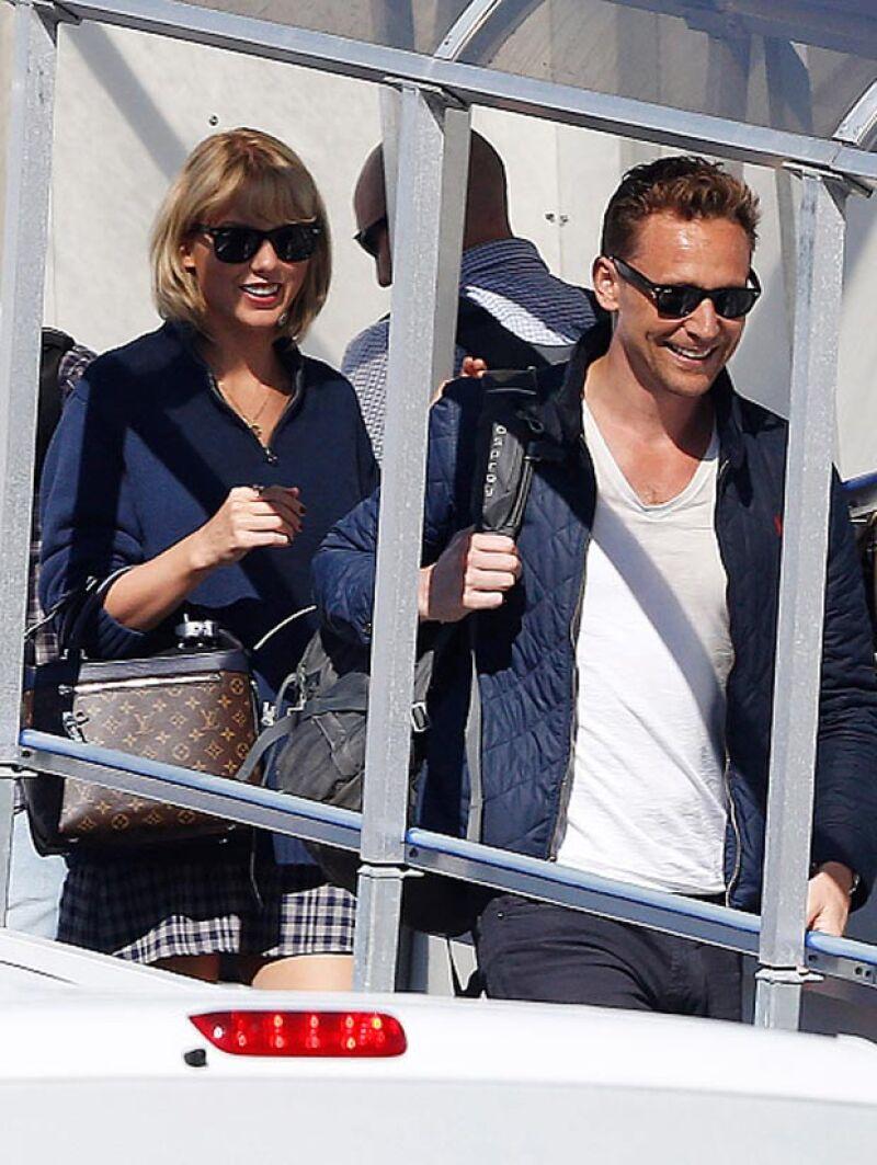 La pareja continúa viajando y ahora se encuentran en Australia para la filmación de la película del actor.