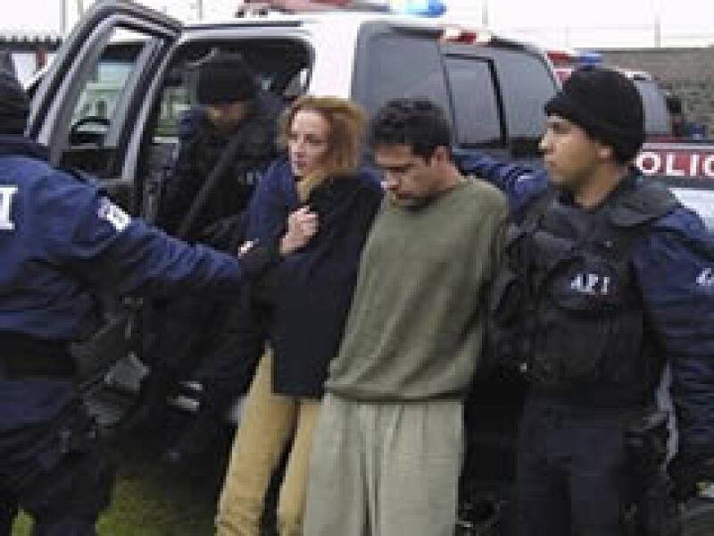 Florence Cassez fue aprehendida en diciembre, se le imputan cargos relacionados con la banda de delincuencia organizada conocida como Los Zodíaco. (Foto: AP)