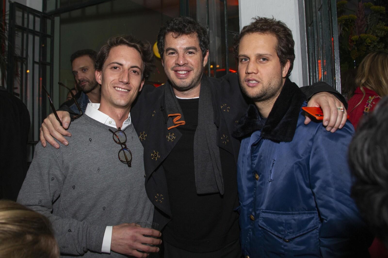 Santiago Ortiz Monasterio, Rodrigo Peñafiel, Johan Merguentaler