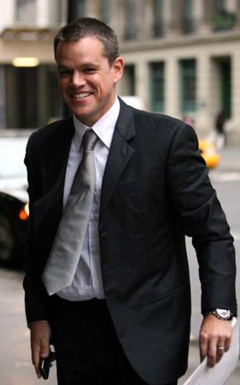 El actor estadounidense realiza en Marruecos el rodaje de la tercera entrega de las aventuras del agente Bourne, &#39The Bourne ultimatum&#39.
