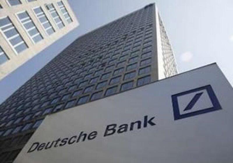 Deutsche Bank prevé un contagio mayor por la exposición en otros países con deuda alta. (Foto: Reuters)