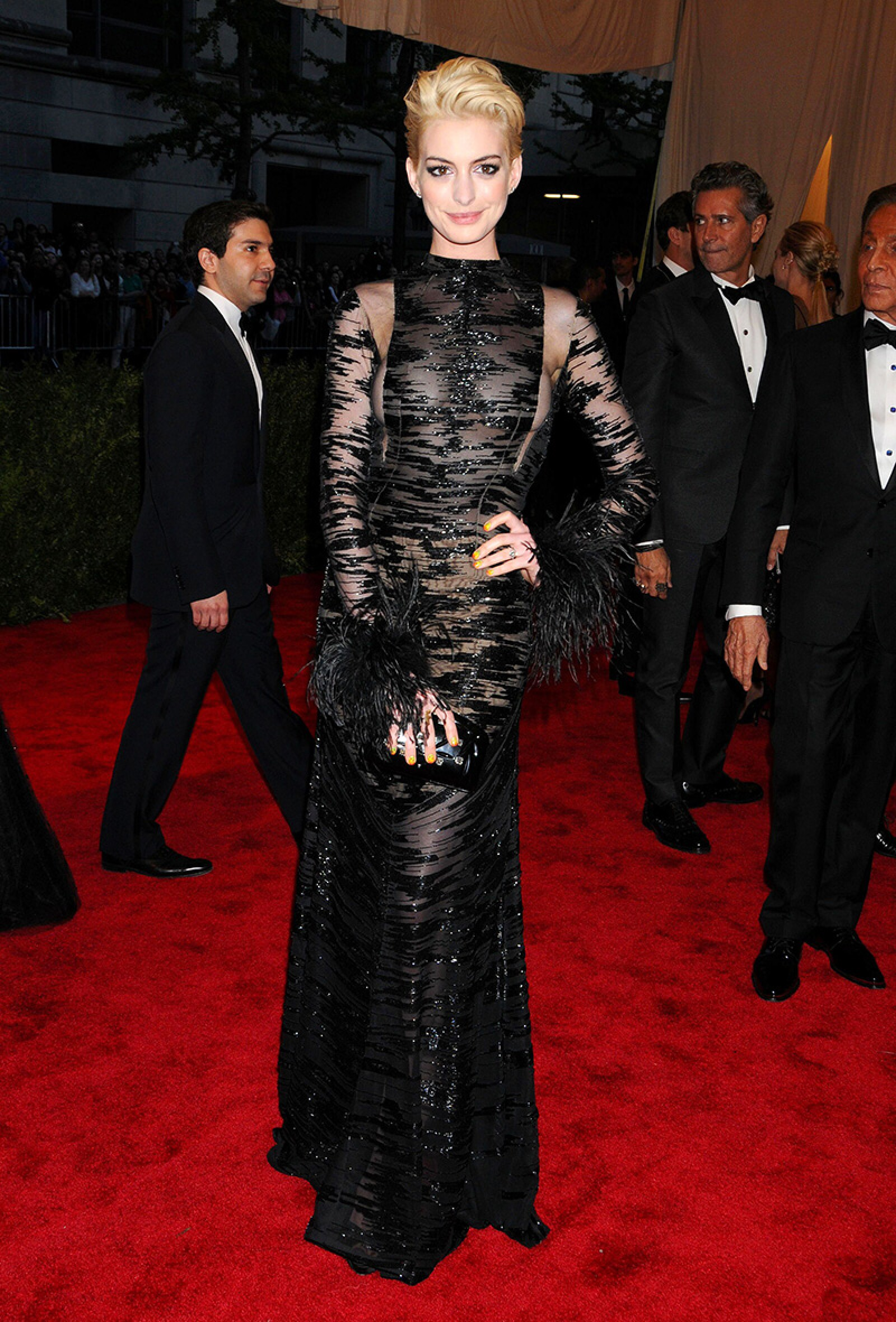 Costume Institute Gala Benefit celebrating the Punk: Chaos To Couture exhibition, Metropolitan Museum of Art, New York, America - 06 May 2013