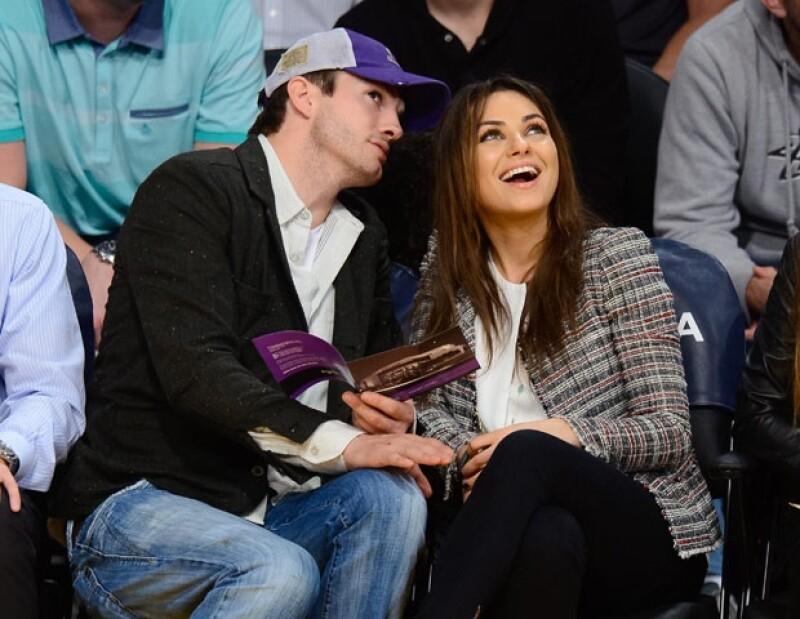 Ayer martes, la pareja fue vista en un partido de basquetbol.