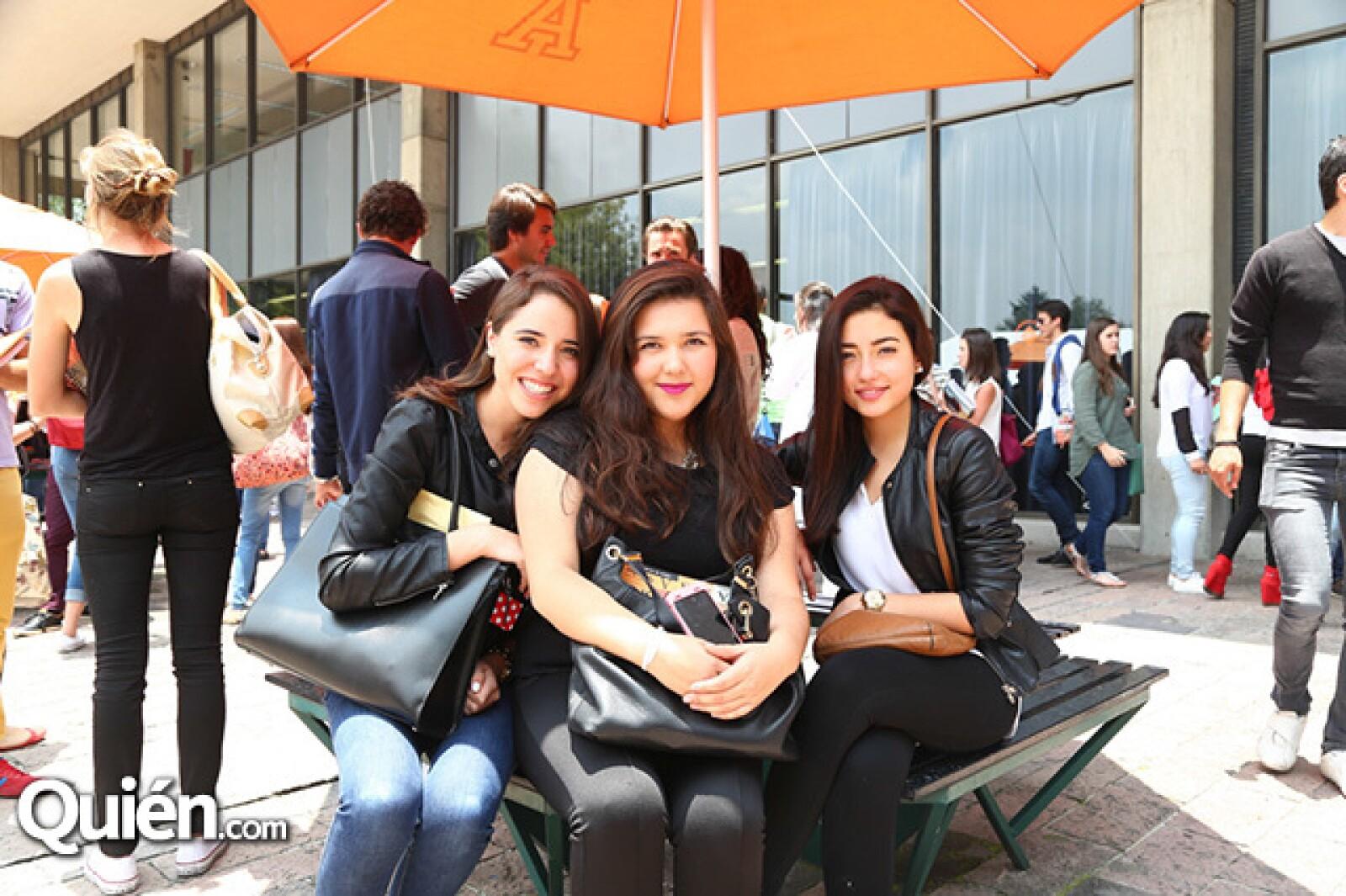 Daniela Nava, Valeria Ramírez y Brenda Ochoa