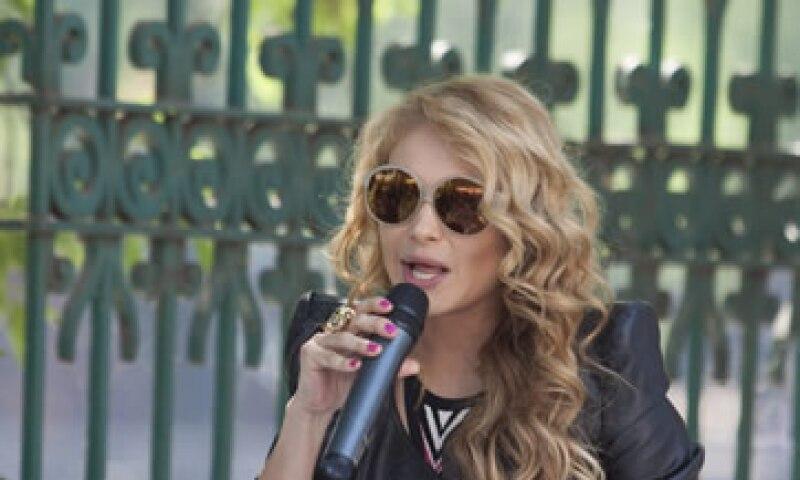 La mexicana quería continuar en el programa musical. (Foto: Cuartoscuro)