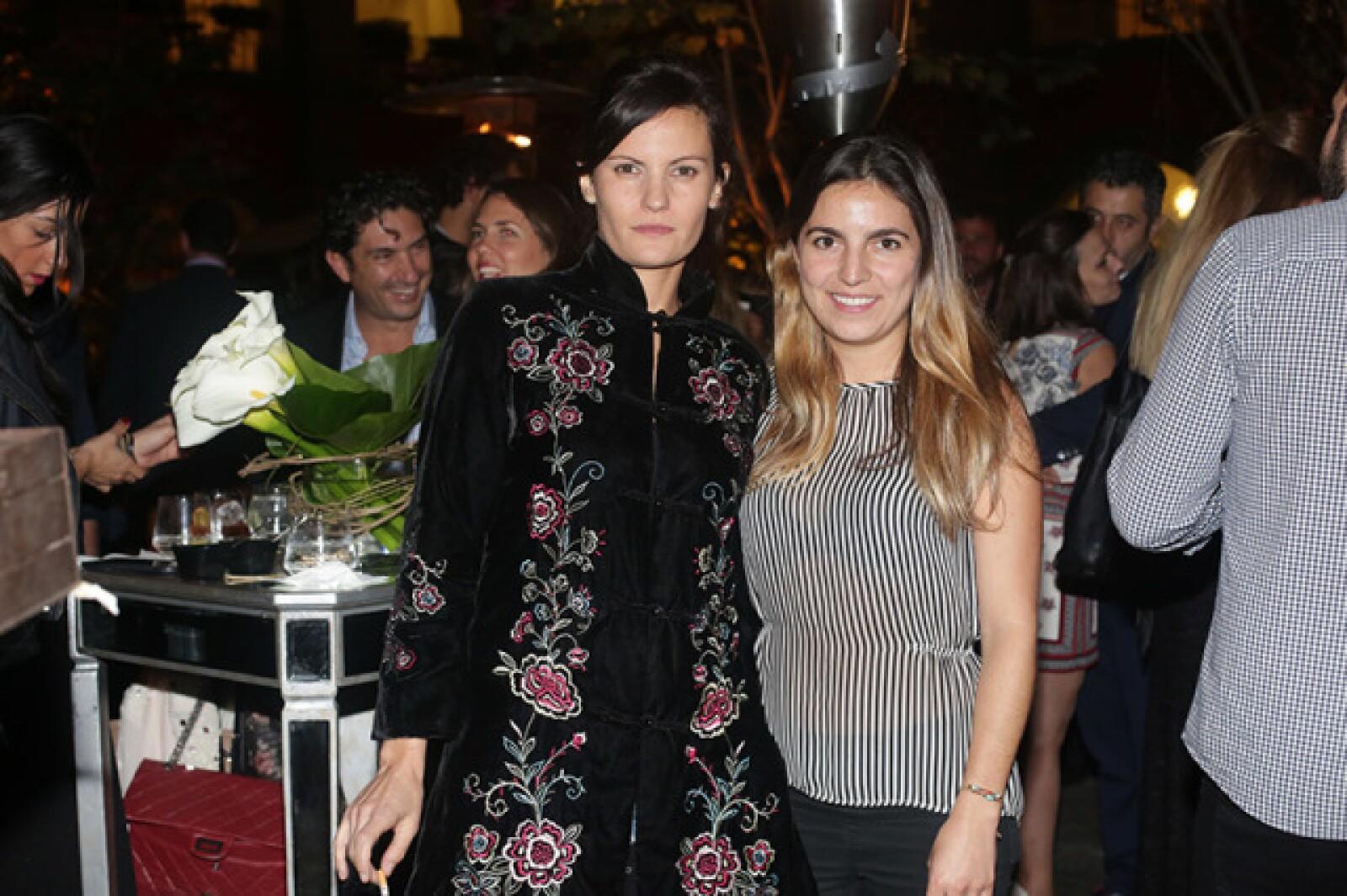 Verónica Morales Zaragoza y Patricia Mendivil