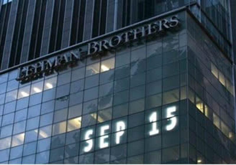 El banco de inversión quebró el 15 de septiembre de 2008. (Foto: AP)