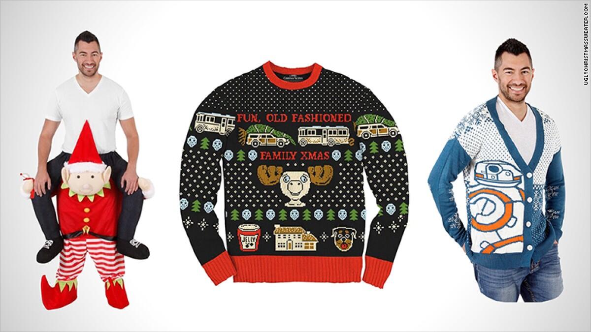 Buscas regalo para Navidad  Diseña tu propio suéter feo 8978ebbb32b58