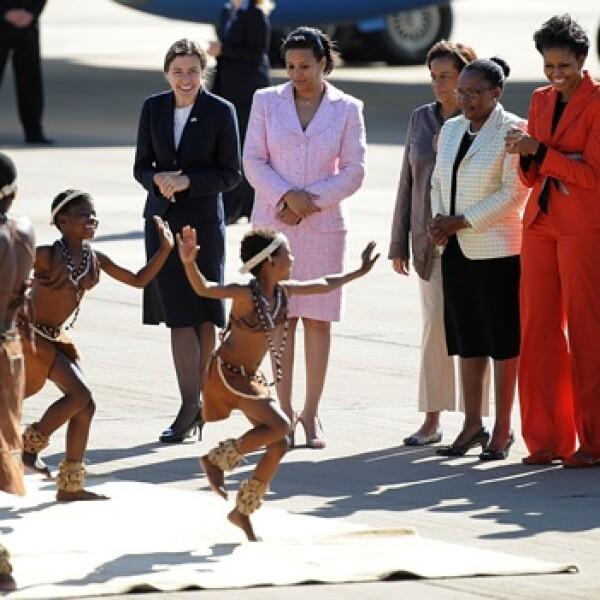Michelle Obama - Botswana