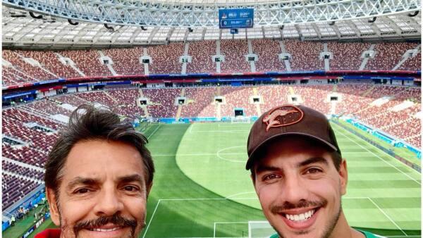 Eugenio y Vadhir en Rusia