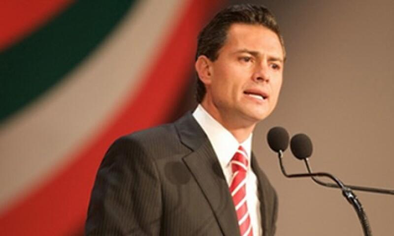 El aspirante del PRI a la presidencia de México, Enrique Peña Nieto, participa en el Foro Económico de Davos. (Foto: Cortesía enriquepeñanieto.com)