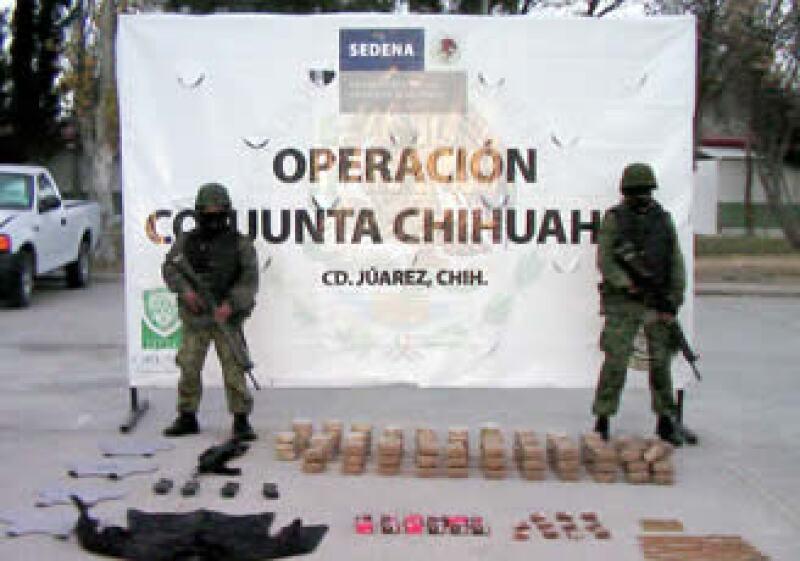 El BID destacó el trabajo del Gobierno mexicano contral el narcotráfico (Foto: Notimex)
