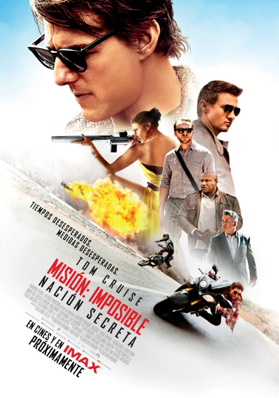 """Cuando se trata de hacer peligrosas secuencias en la pantalla grande, el actor nos demuestra que no le teme a nada. Así lo hizo en su nueva película """"Misión: Imposible - Nación Secreta""""."""