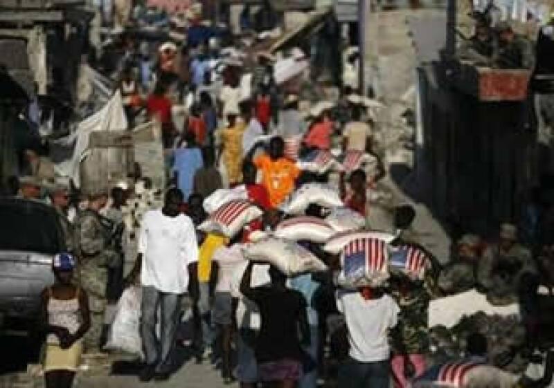 Expertos consideran que el primer reto es que el Gobierno de Haití pueda funcionar normalmente. (Foto: Reuters)