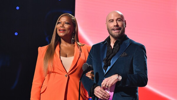 John Travolta y Queen Latifah