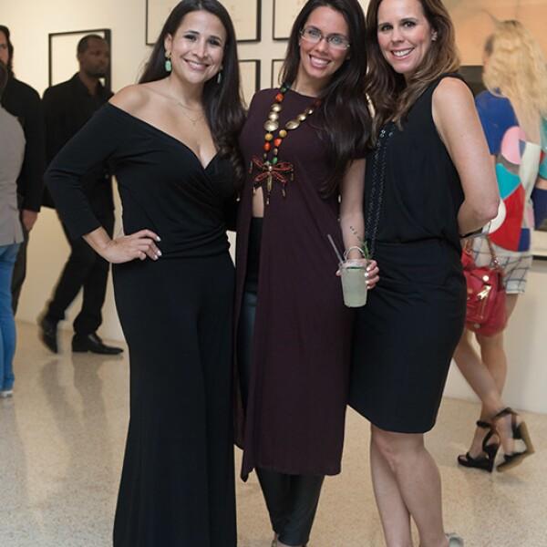Elizabet García,Paola García y Jannie King