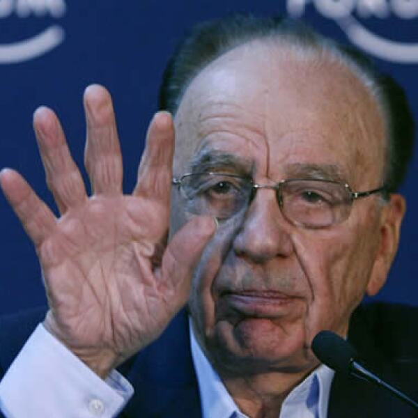 """Rupert Murdoch, CEO de News Corporation y copresidente este año del Foro de Davos, afirmó esta mañana que la crisis """"está empeorando"""" y que """"va a llevar mucho tiempo superarla""""."""