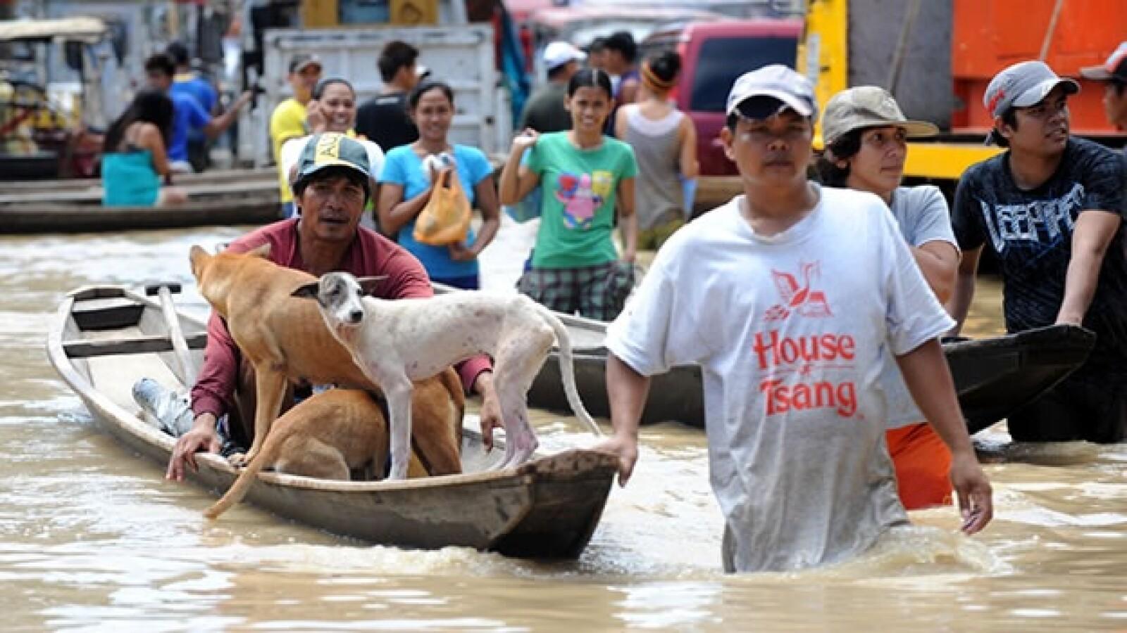 inundacion, filipinas, tormenta