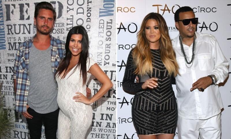 Las hemanas de Kim Kardashian podrían casarse pronto con sus respectivas parejas, Scott Disick y French Montana.