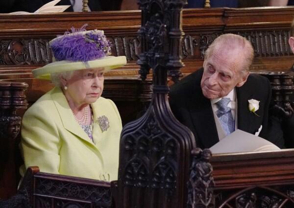 Reina Isabel II y su esposo, el duque de Edimburgo
