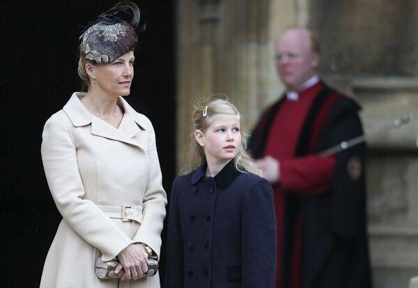 Sophie Wessex y Lady Louise