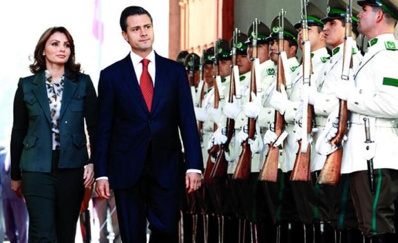EXPERTISE. Agélica Rivera ya fue primera dama en el Esatdo de México.