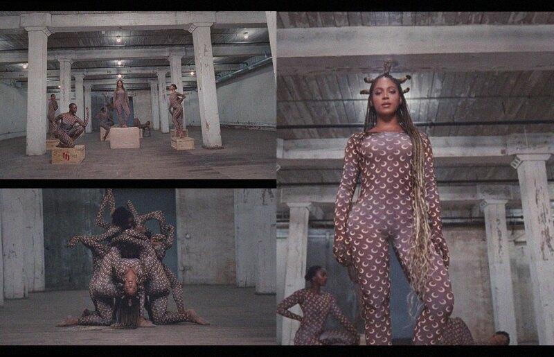 Beyoncé en Marine Serre