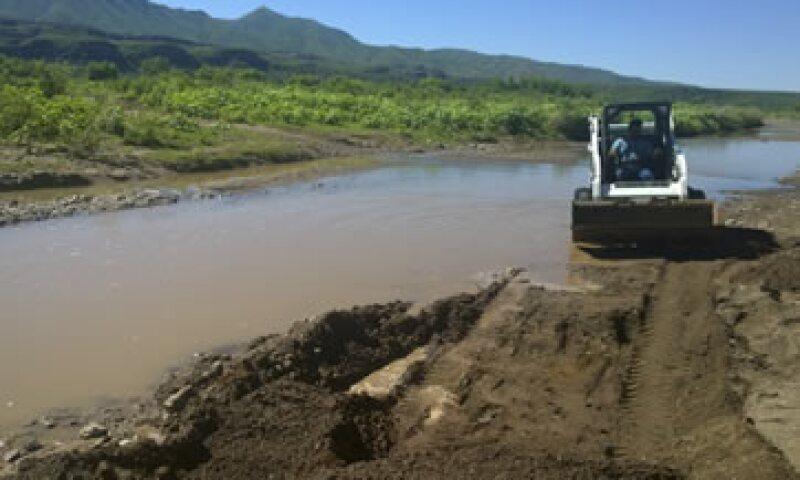 Actualmente se realizan labores de limpieza en el río. (Foto: Cuartoscuro)
