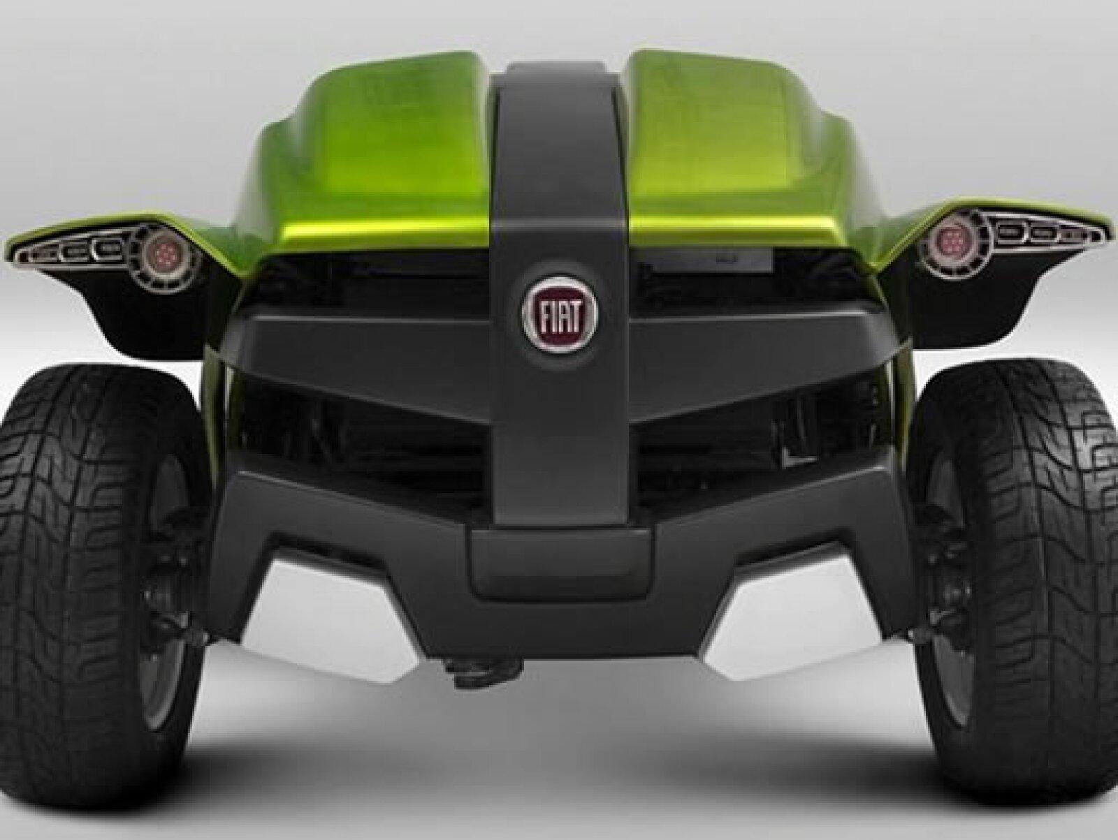 Por ser un vehículo destinado a las actividades deportivas y de todoterreno, está equipado con el eficiente sistema Locker.