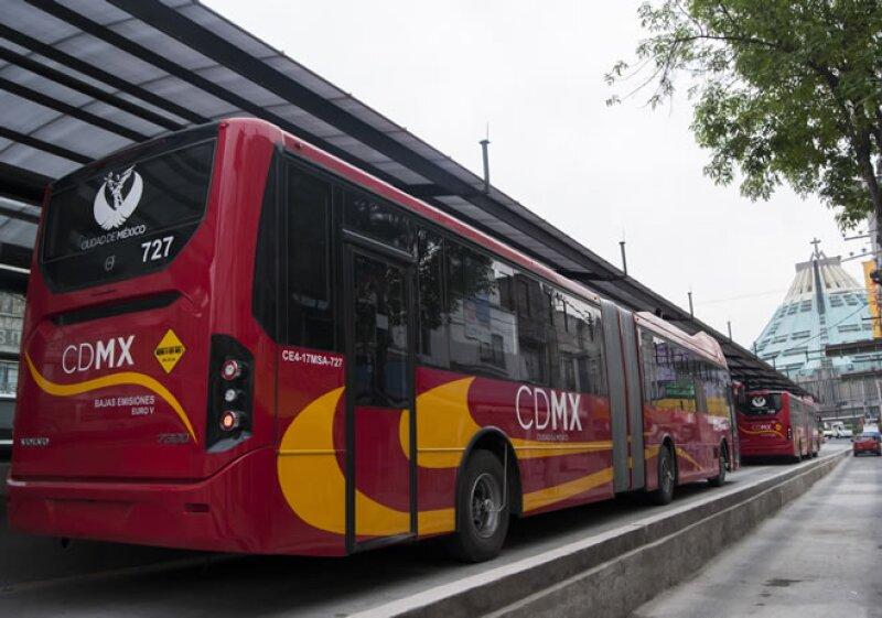 Línea 6 Metrobus Pruebas