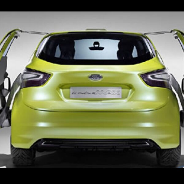Este modelo cuenta con un diseño innovador que conjunta diferentes formas geométricas en un solo automóvil.