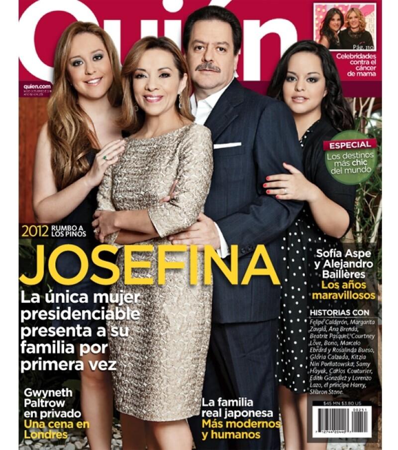 La precandidata del PAN a la Presidencia abrió las puertas de su casa en exclusiva para la nueva edición de la revista Quién que ya está en circulación.
