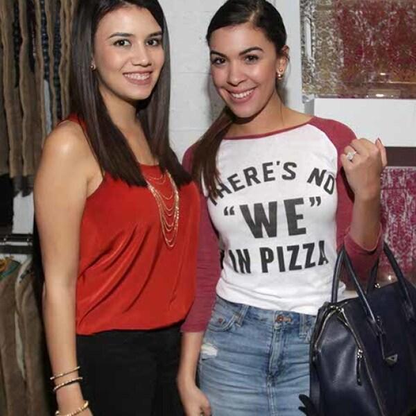Amanda Reinefela y Gaby Rojas