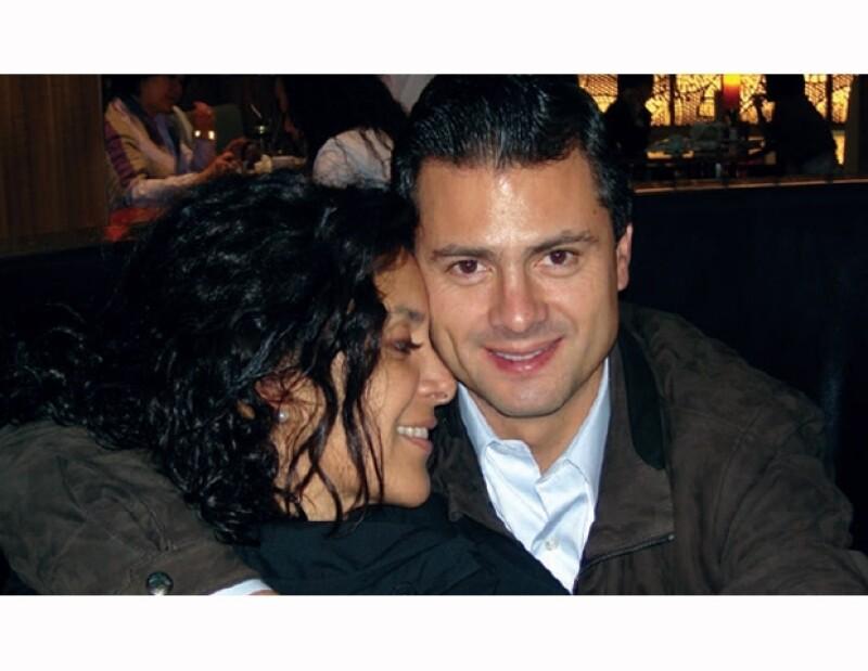 Rebecca Solano y Enrique Peña Nieto