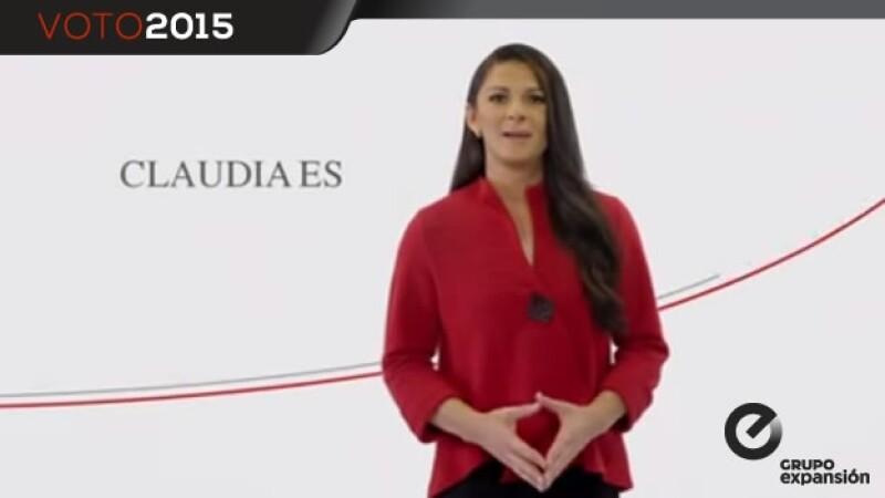 Ana Guevara pide apoyo para Claudia