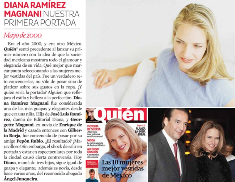 Diana Rámirez Maganani nuestra primer portada.