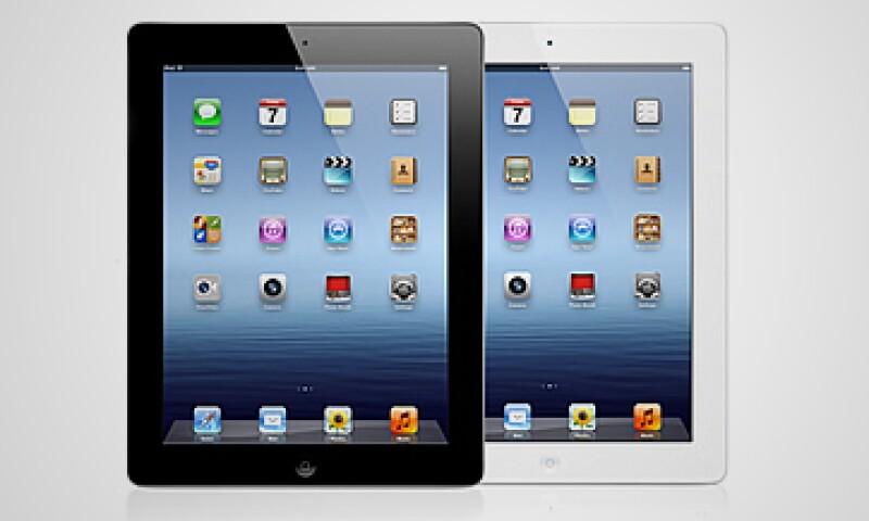 La iPad se comercializará como a partir del próximo 23 de marzo en México. (Foto: Cortesía Apple)