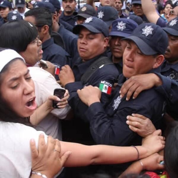 triquis policía Oaxaca 5