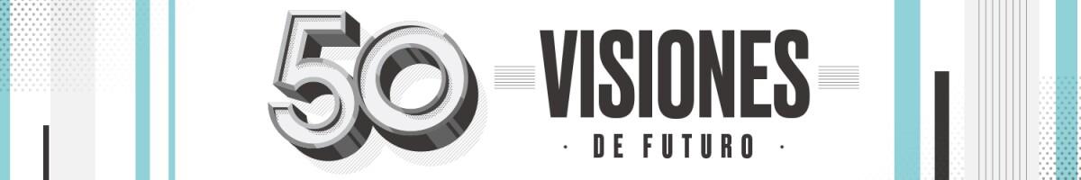 50 visiones del futuro / header desktop Expansión